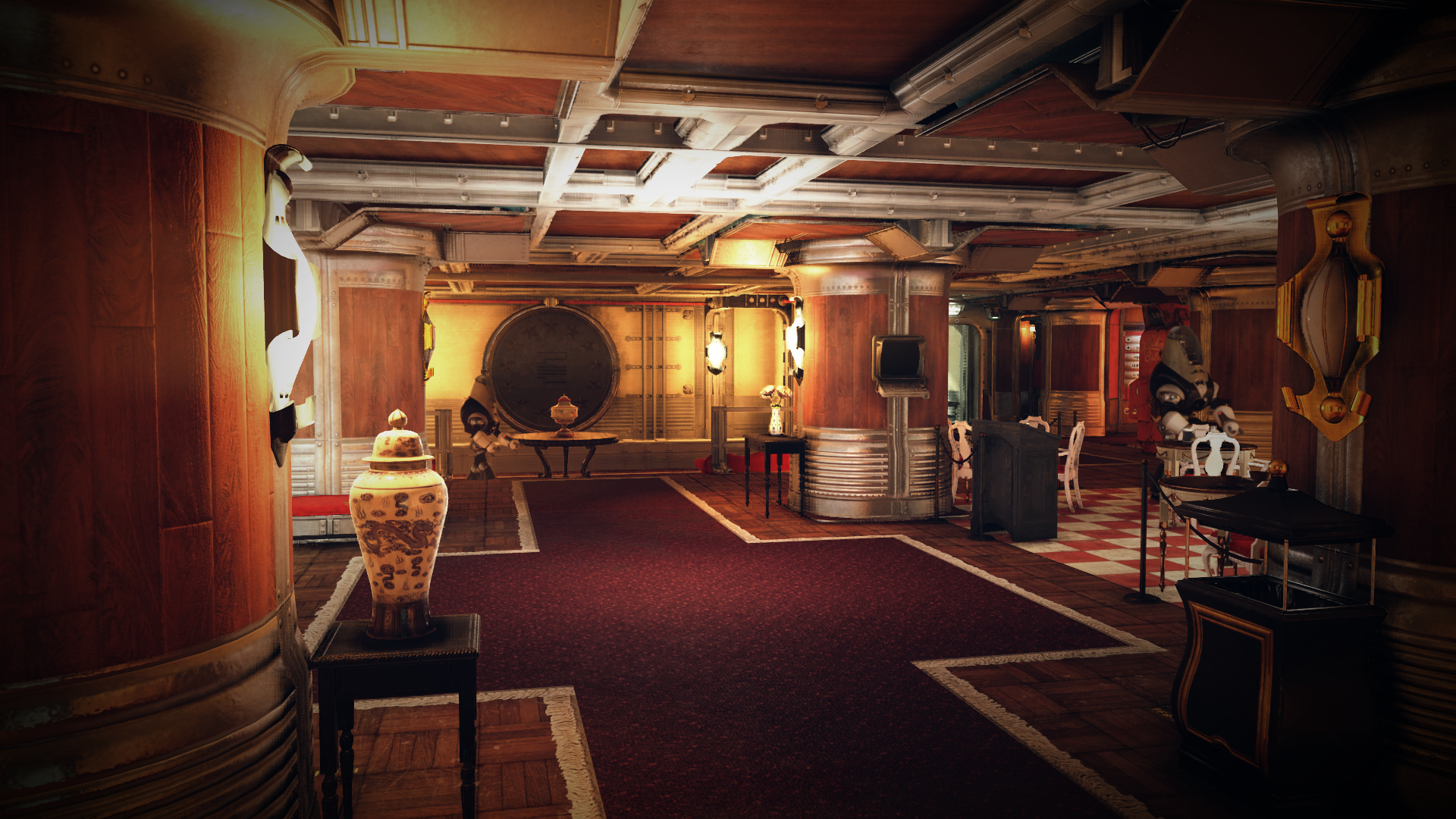 Whitespring bunker foyer