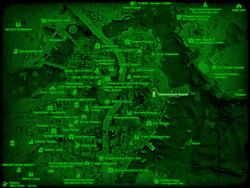 FO4 Таможенная башня (карта мира)