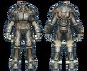 FO4 X-01 power armor BOS paladin