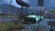 FO76 Green Pick R Up truck