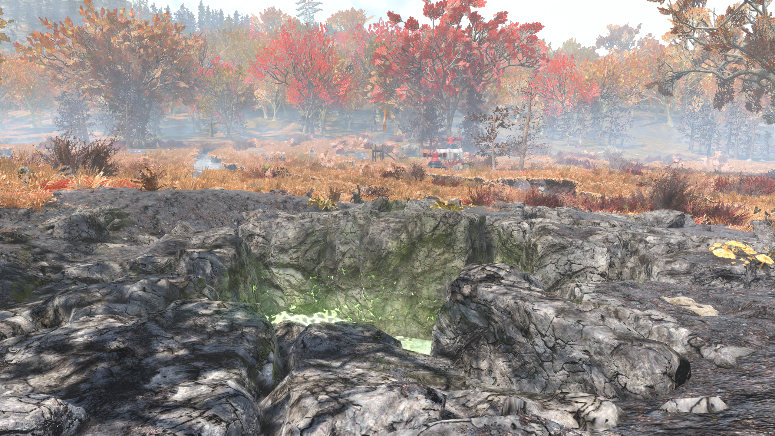 Fallout 76 Fissure Site unnamed SE of Firebase LT