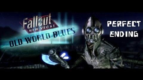 Fallout New Vegas Old World Blues - Perfect Complete Ending