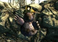 LL Murray the Mole statue