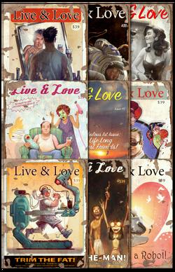 Live & Love collage