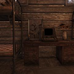 Bobblehead location (Scout cabin)