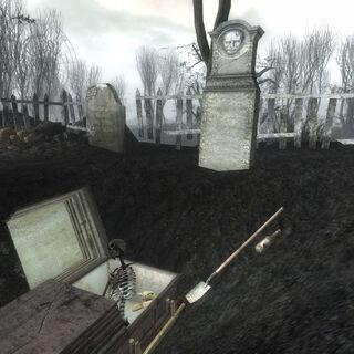 Розрита могила