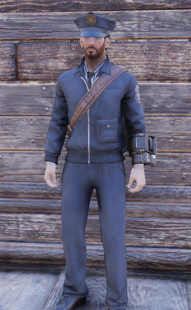 d5a575cb1fb Postman uniform (Fallout 76)