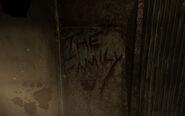 Wests home graffiti