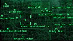 Alien Crash Site loc