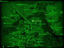 FO4 Галерея Пикмана (карта мира)
