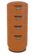 Fo4VW Tall Orange File Cabinet