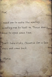Fo76 Letter from Maria Chavez to Responder