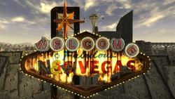FNV Fabulous New Vegas sign close