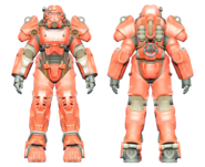 FO4CC T-60 power armor red