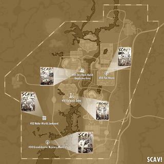 Місцезнаходження випусків на карті
