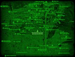 FO4 Политехническая школа Центрального Бостона (карта мира)