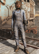 FO76 Steel Worker Uniform