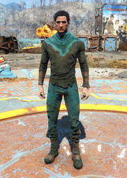 Fo4ColorfulDarkGreenUndergarments