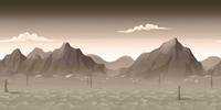 FoS Wasteland sunrise sky