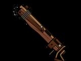 Heavy pipe pistol