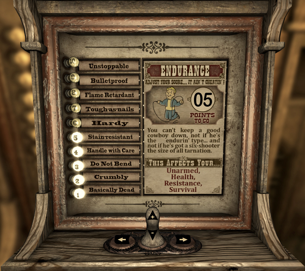 Vitomatic Endurance screen