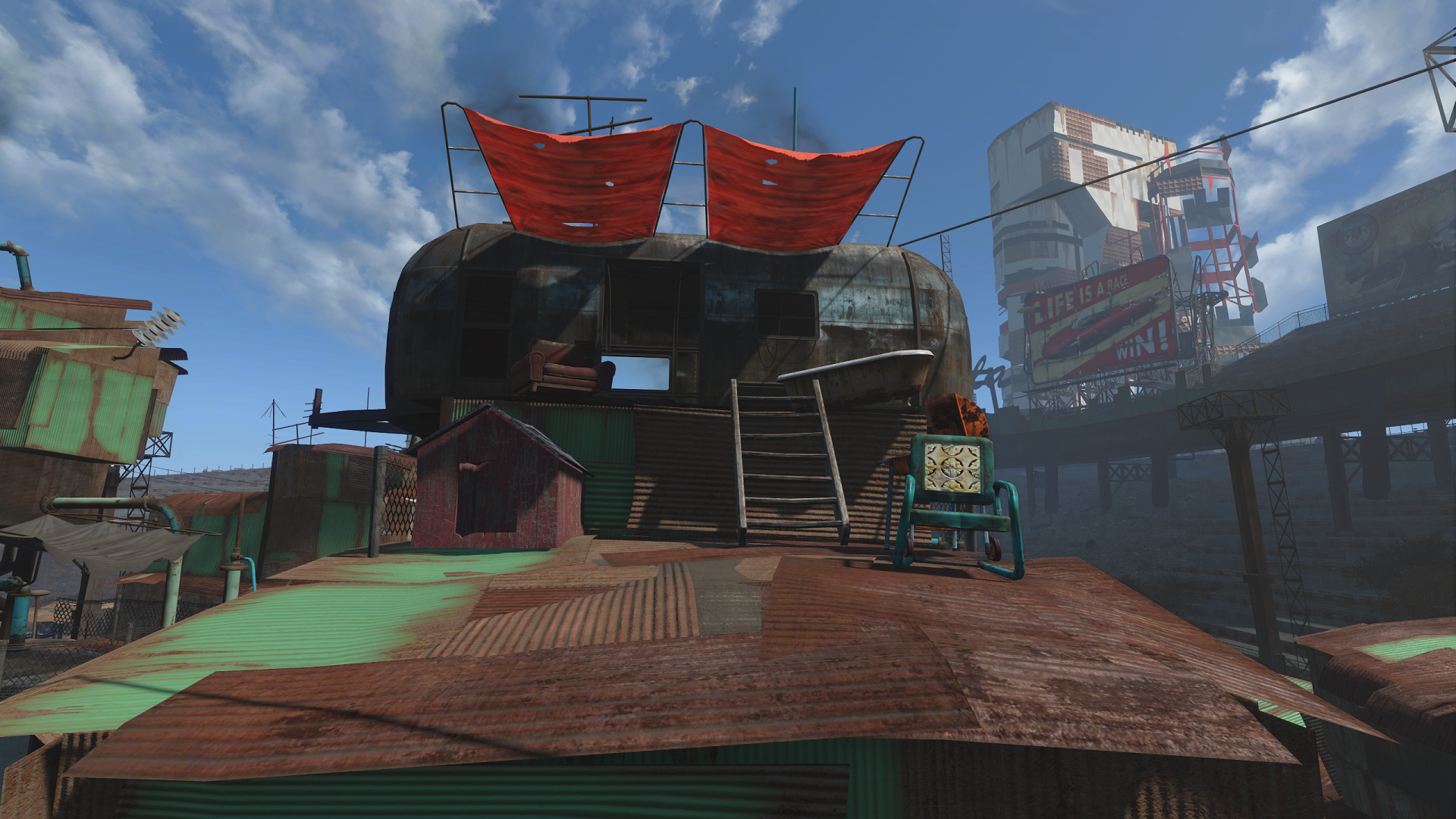 FO4 Home Plate Roof