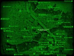 FO4 Сувенирный магазин научного центра (карта мира)