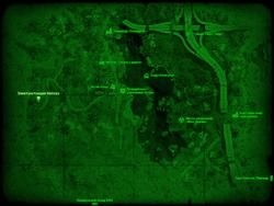 FO4 Электростанция Натика (карта мира)