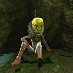 Поранений дзетанець в печері