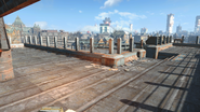 FO4 Cambridge Police station rooftop 1