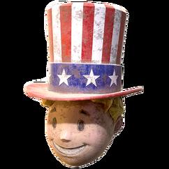 FO76 Atomic Shop - Patriot head