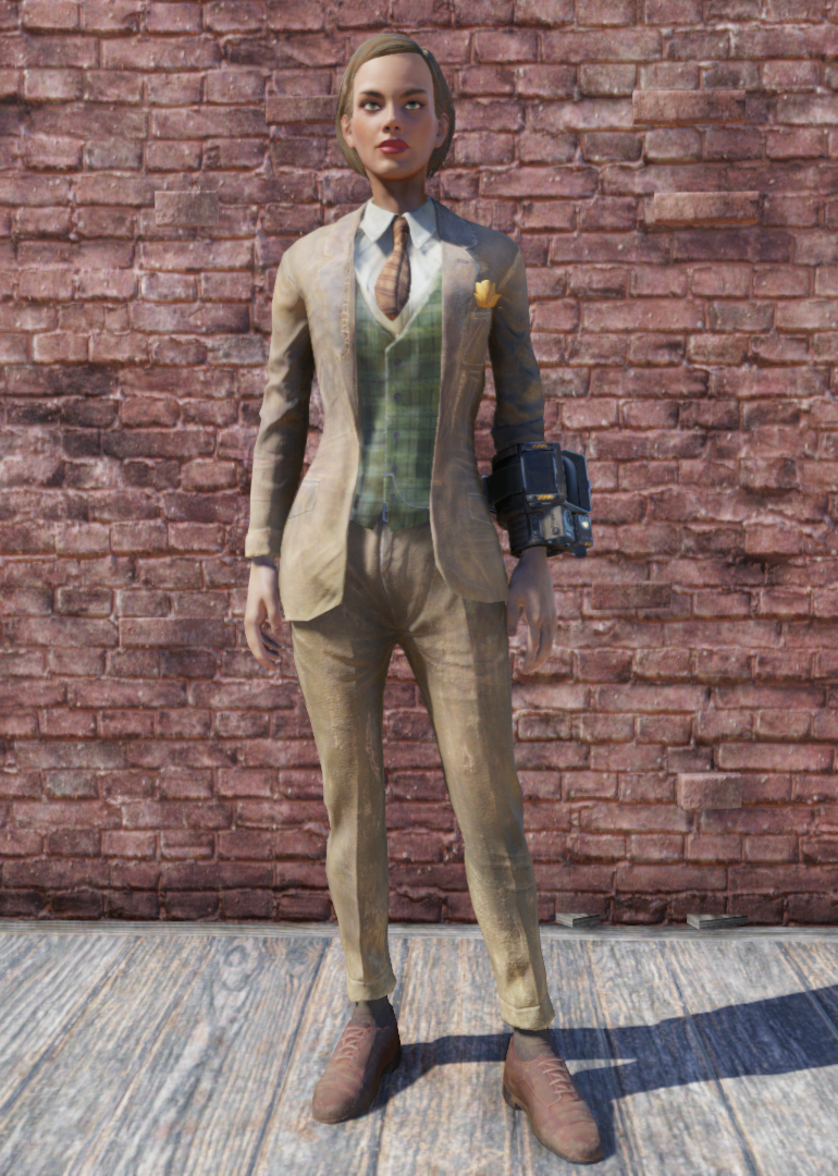Patched Suit Fallout 76 Fallout Wiki Fandom Powered By Wikia