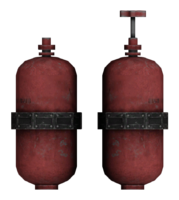 Flamer expanded tank