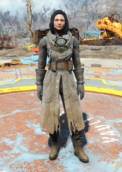 Fo4Science Scribe's Armor