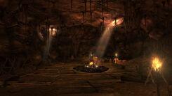 White Birds Cave interior