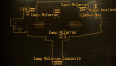 Camp MC terminal building loc map