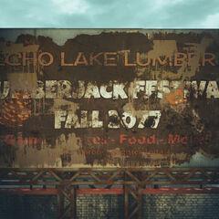 Рекламний щит фестивалю