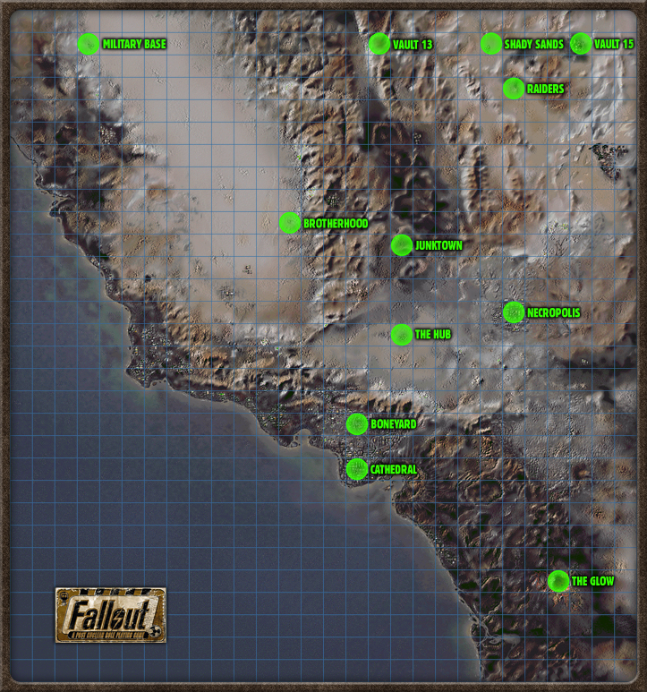 New Vegas World Map.New California Fallout Wiki Fandom Powered By Wikia