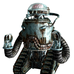 Brotherhood of Steel robobrain in <i>Fallout 3</i>