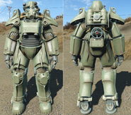 FO4 T45 Military paint