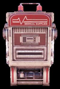 FO76 Medical supplies vending machine