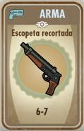 FOS Escopeta recortada carta