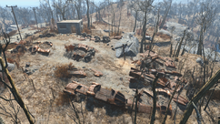 Fo4 Robotics disposal ground overview