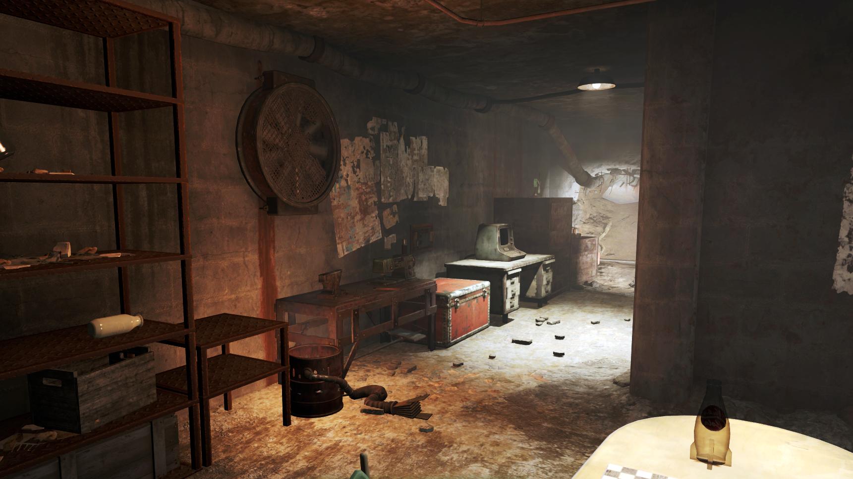 Merveilleux Fo4 Backyard Bunker Interior.png
