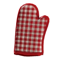 Unscorched oven mitt