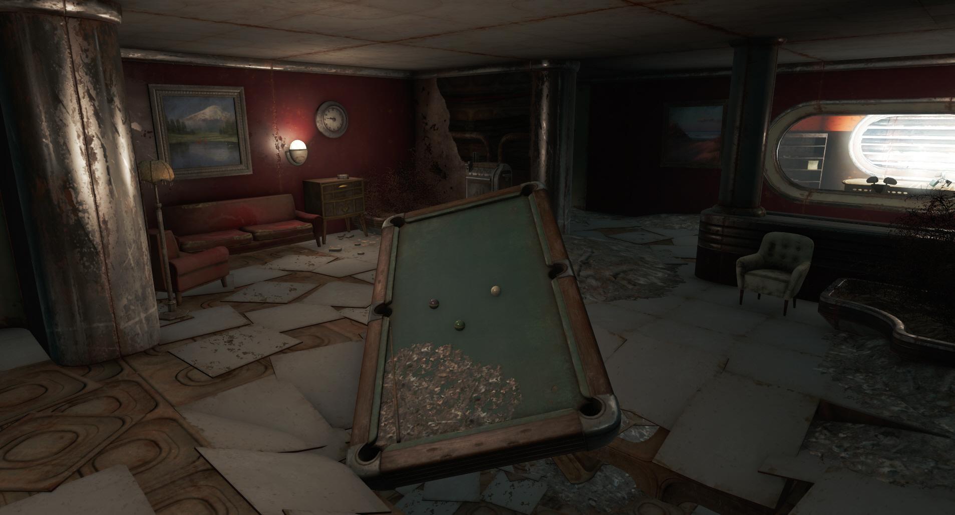 Vault-TecRegionalHQ-PoolTable-Fallout4