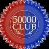 50000 club seal