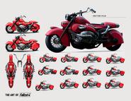 Art of Fo4 Motorcycle (2)
