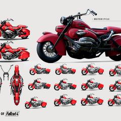 Lone Wanderer motorcycle
