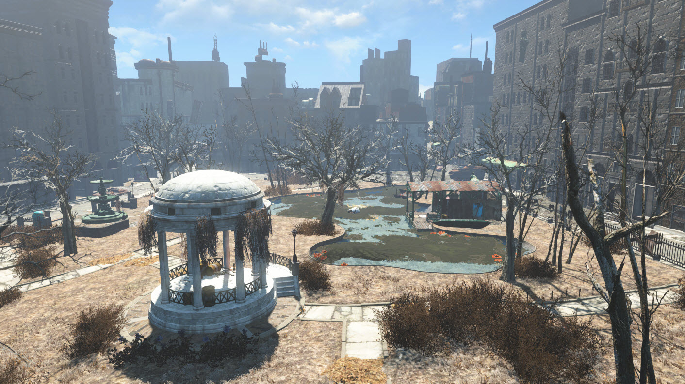 Boston Common. BostonCommon-Fallout4